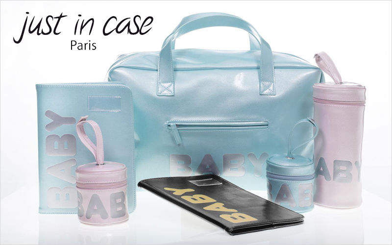 JUST IN CASE Sac à Langer Bain et toilette Enfant  |
