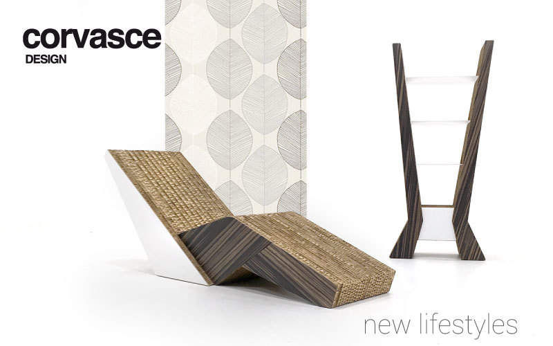 Corvasce Design Chaise longue Méridiennes Sièges & Canapés Salon-Bar | Décalé