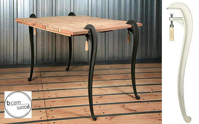 Pied de table tables de repas decofinder - Pied de table fer ...