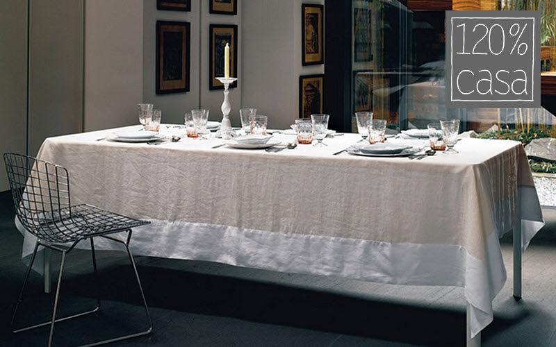 120% Lino Casa Nappe rectangulaire Nappes Linge de Table Salle à manger | Charme