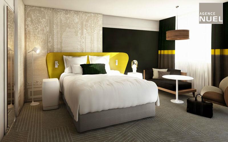 Agence Nuel / Ocre Bleu Idées: Chambres d'hôtels Chambres à coucher Lit  |