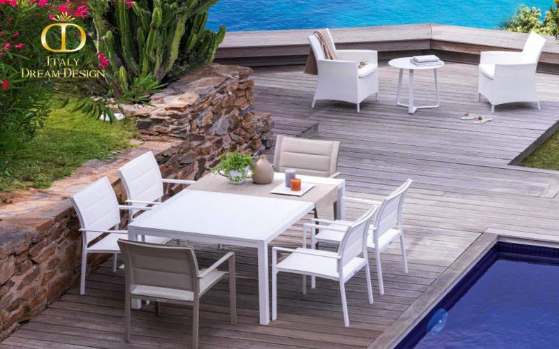 ITALY DREAM DESIGN Table de jardin à rallonges Tables de jardin Jardin Mobilier   