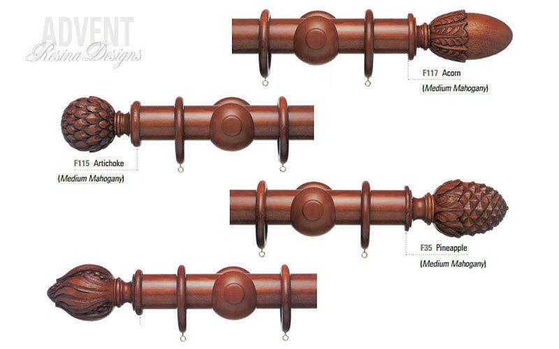 Resina Designs Tringle à rideaux Tringles et accessoires Tissus Rideaux Passementerie  |