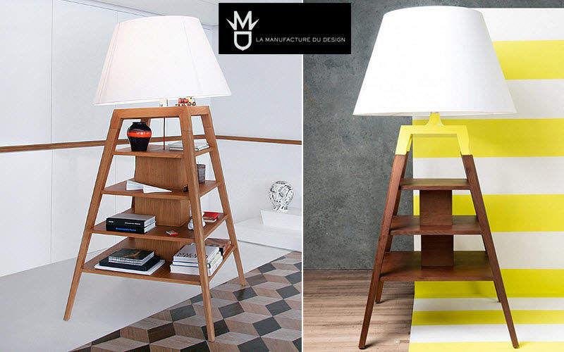 LA MANUFACTURE DU DESIGN Lampadaire-meuble Lampadaires Luminaires Intérieur  |