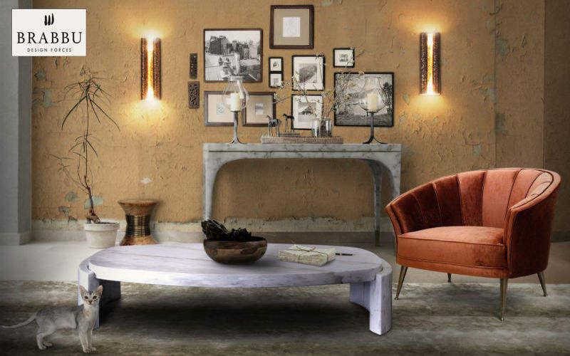 Table basse ovale tables basses decofinder - Les plus belles tables basses ...