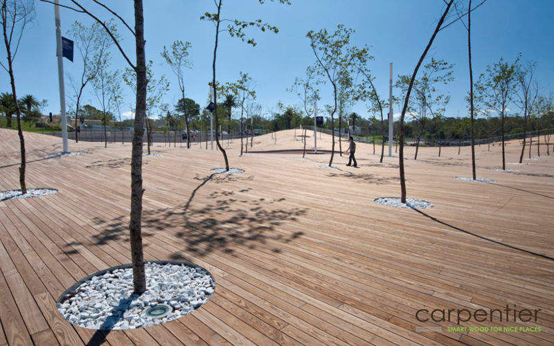LIVINLODGE BY CARPENTIER Plancher de terrasse Sols extérieurs Sols  |