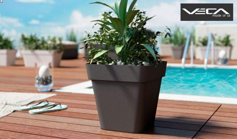 Lyxo by Veca Cache-pot Pots de jardin Jardin Bacs Pots  |