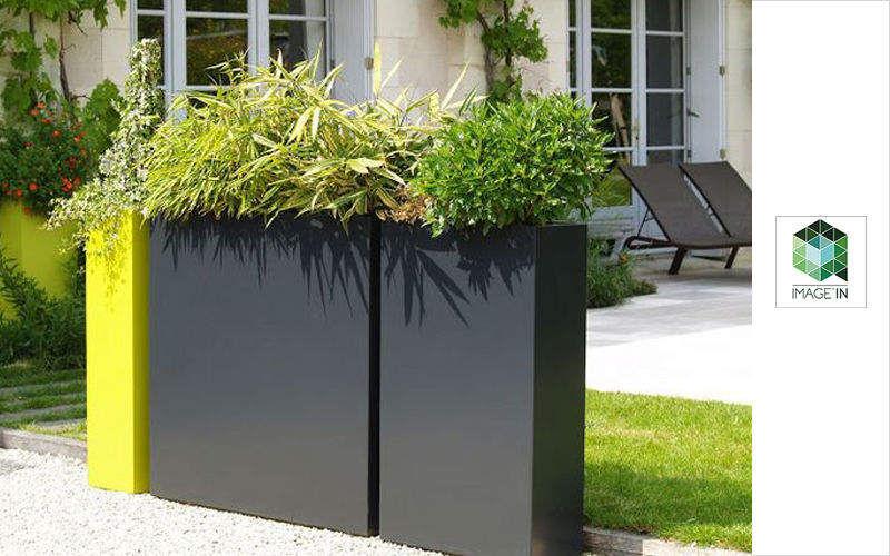 IMAGE'IN Bac à fleurs Bacs Jardin Bacs Pots  |