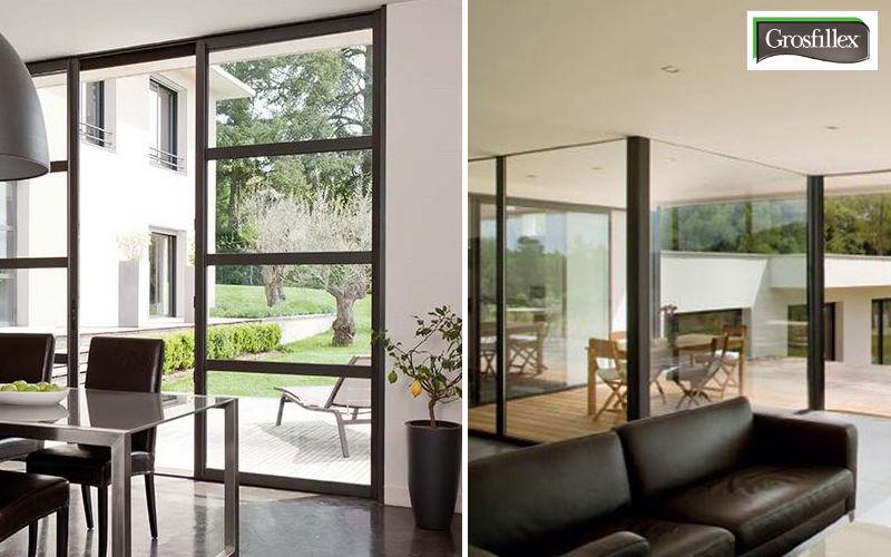 Grosfillex fenêtres Baie vitrée coulissante Portes-fenêtres Portes et Fenêtres  |