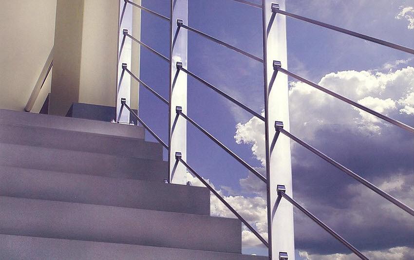 Er2m Escalier d'extérieur Escaliers Echelles Equipement  |