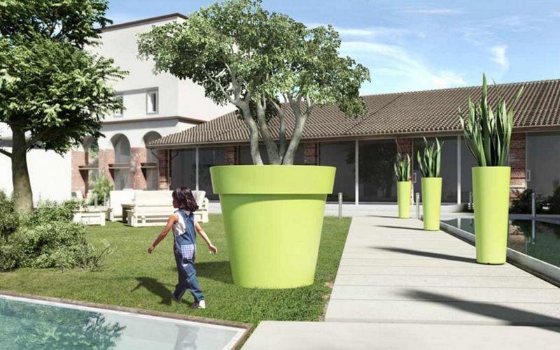 Lyxo by Veca Pot de jardin Pots de jardin Jardin Bacs Pots  |