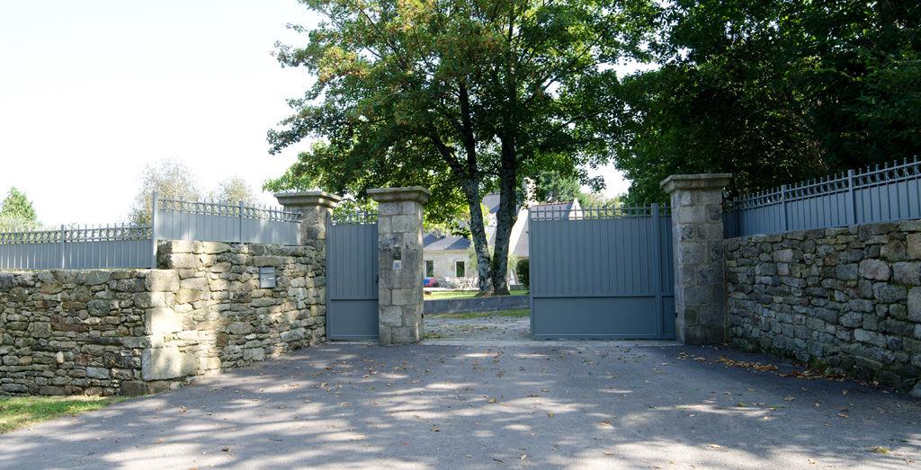 KOSTUM Clôture défensive Clôtures Bordures Jardin Abris Portails...  |