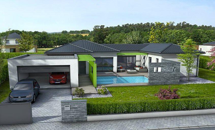 MAISONS CLAIR LOGIS Maison de plain-pied Maisons individuelles Maisons individuelles  |