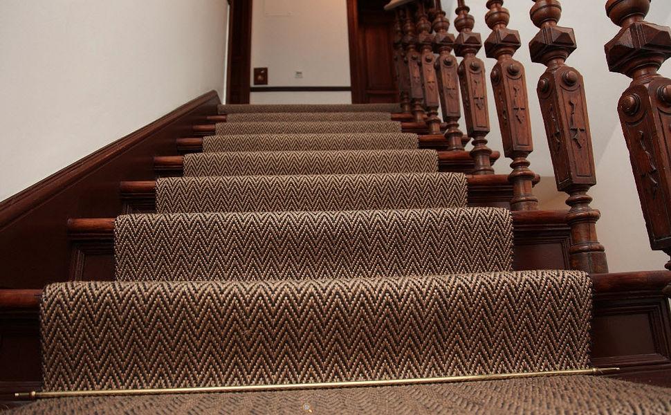 MELLAU Tapis d'escalier Tapis de seuil couloir escalier Tapis Tapisserie  |