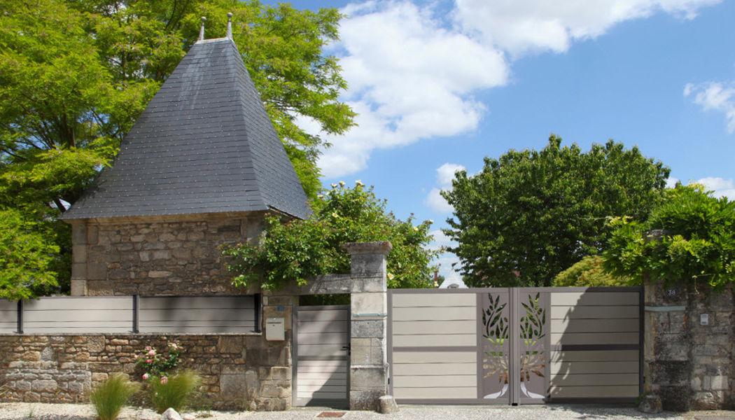 OCÉWOOD Portail à vantaux Portails Jardin Abris Portails...  |