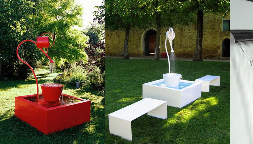 Olikid Fontaine centrale d'extérieur Fontaines Jardin Bacs Pots  |