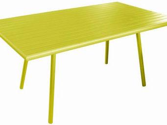 PROLOISIRS - table de jardin menu lemon 160cm - Table De Jardin