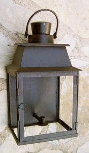 Lanternes d'autrefois  Vintage lanterns - applique luminaire murale langeais en fer forgé 30 - Applique D'extérieur