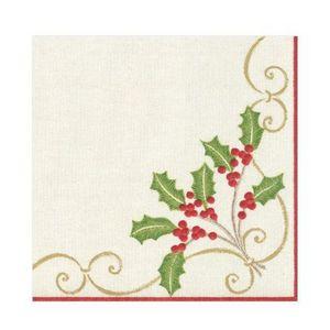 Caspari Serviette de Noël en papier
