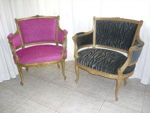 Adequat Tissus Fauteuil Marquise