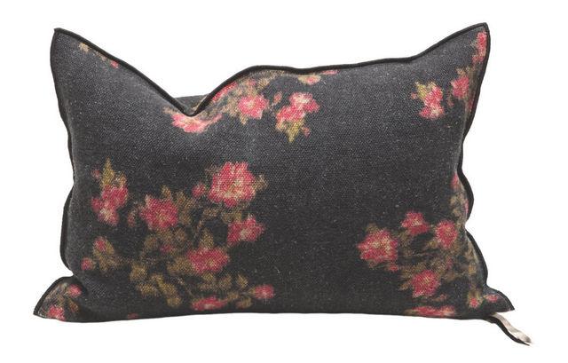 Coussin rectangulaire-Maison De Vacances-Roses Magenta