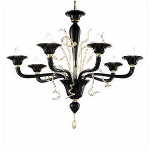 Turina Design  - Murano Lux Lighting - classici contemporanei lighting - Lustre Murano