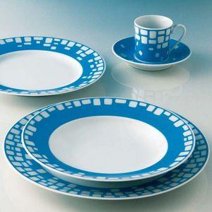 TUNISIE PORCELAINE -  - Assiette Plate