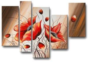 Wall Art avenue - tableaux sur toile peinture 100% à la main - Tableau Contemporain