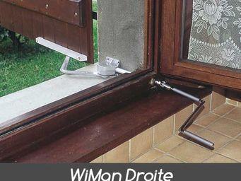 Wimove - manivelle wiman droite pour volets battants - Automatisme Et Motorisation Pour Volet
