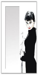 Decoratessen - 34 audrey hepburn - Miroir