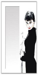 KREA HABITAT - 34 audrey hepburn - Miroir