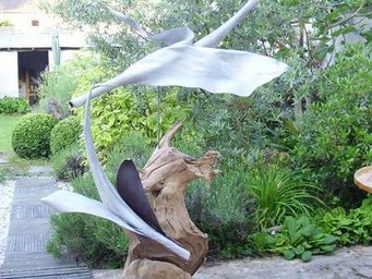 Decors Nature - l'envol - Sculpture Végétale