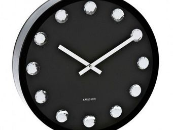 Karlsson Clocks - karlsson - horloge big diamond - karlsson - noir - Horloge Murale