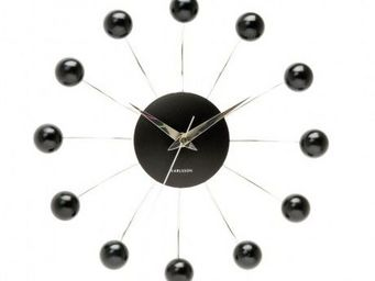 Karlsson Clocks - karlsson - horloge spider - karlsson - noir - Horloge Murale