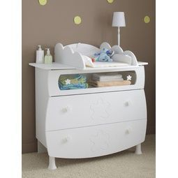 Katherine Roumanoff - commode bébé flower - Commode Enfant