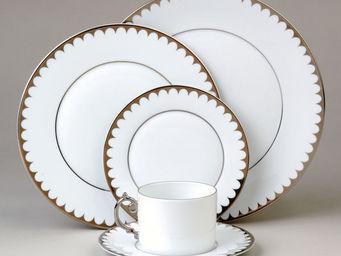 L'OBJET - aegean filet platinum dinnerware - Assiette Plate