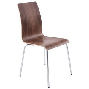 Smart Boutique Design - chaises de salon ou de cuisine noyer espera lot de - Chaise