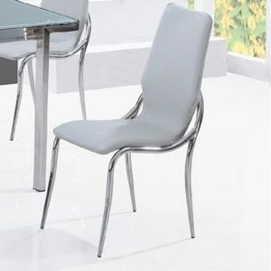 Smart Boutique Design - chaises grises kiss lot de 4 - Chaise