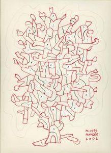 Michel Maugee -  - Dessin À L'encre