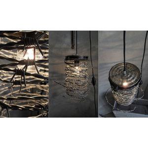 NINA IMAGINE... - lampe design suspension intrusion - Lampe À Poser