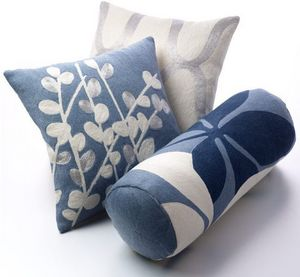 Judy Ross Textiles -  - Coussin Carré