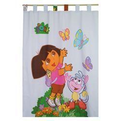DORA - double rideau dora spring 140 x 240 cm - Rideaux Enfant