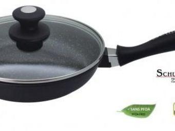 SCHUMANN PROFESSIONNEL - poele en pierre et fonte d'aluminium 20cm - schu - Po�le � Cuisiner