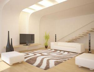 NAZAR - tapis chillout 200x290 beige - Tapis Contemporain