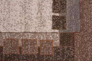 NAZAR - tapis contempo 160x230 caramel - Tapis Contemporain