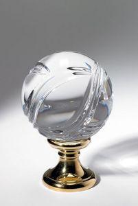 Cristal Decors - boule pleine - Boule D'escalier