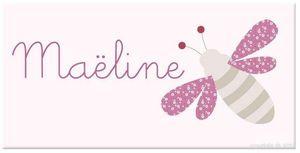 BABY SPHERE - plaque de porte petite abeille - Plaque De Porte Enfant