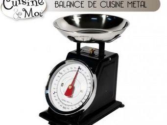 Fomax - balance de cuisine en métal - Balance De Cuisine Électronique
