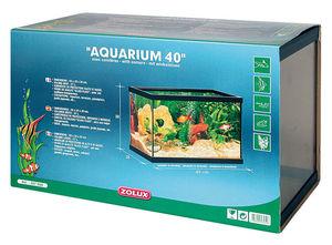ZOLUX - aquarium 20 litres rectangulaire avec cornières 40 - Aquarium