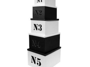 Cm - set de 5 bo�tes n�5 - Boite De Rangement